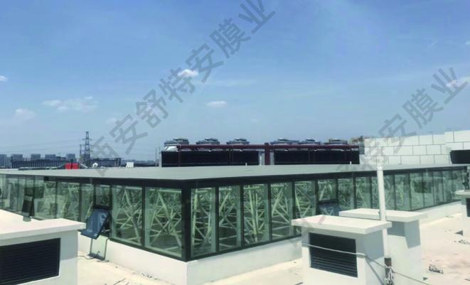 高新区高科工业园透射性辐射制冷膜